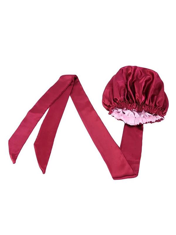 satin bonnet red
